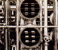 CPZで防食している熱交換器